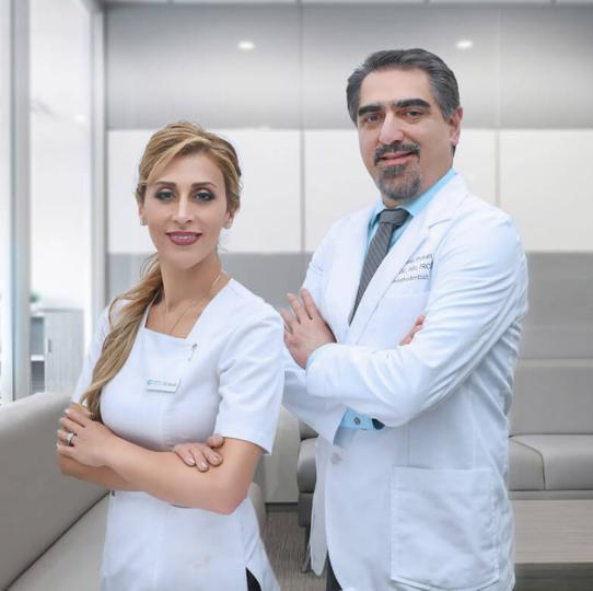 Dr Saidi and Dr Shoukati