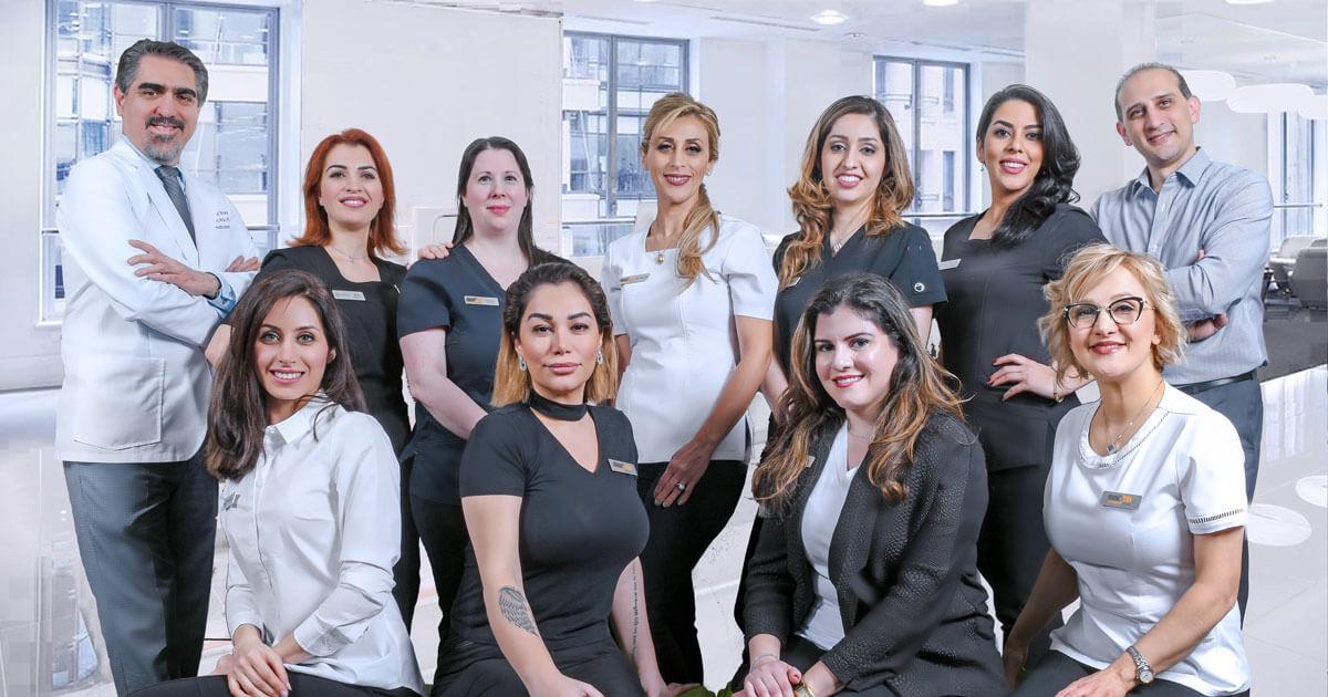 Leslie North Dental Implants Center Team